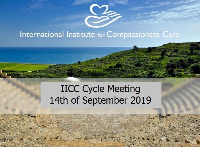 IICC Cycle Meeting 14th of September 2019