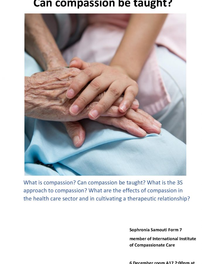Compassion Workshop Presentation by Sophronia Samouti